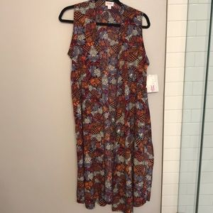 LulaRoe Joy long silky vest